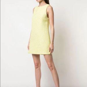 Alice + Olivia Boucle Neon Sequin Dress